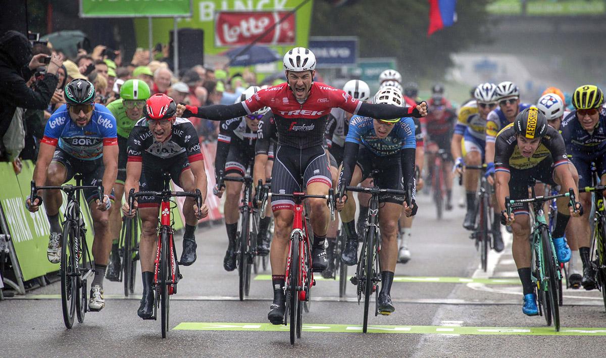 Binck Bank Tour – 4º etapa: Theuns deja sin gloria a Lampaert
