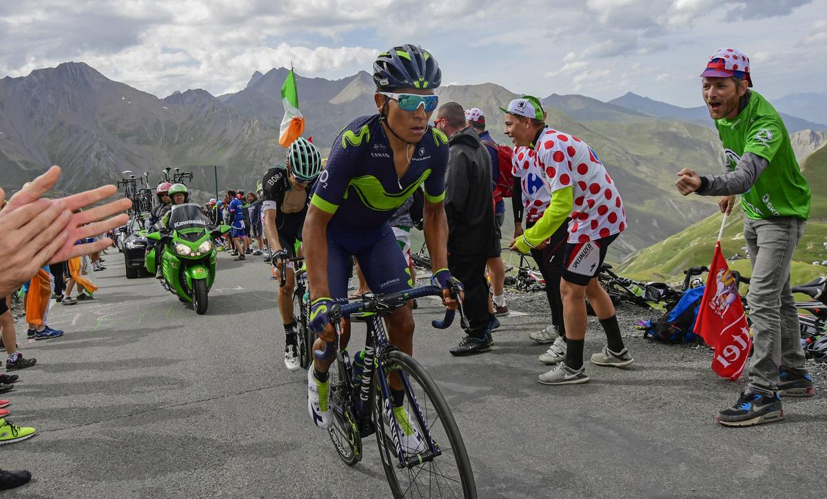 El agente de Quintana niega su posible salida del Movistar Team