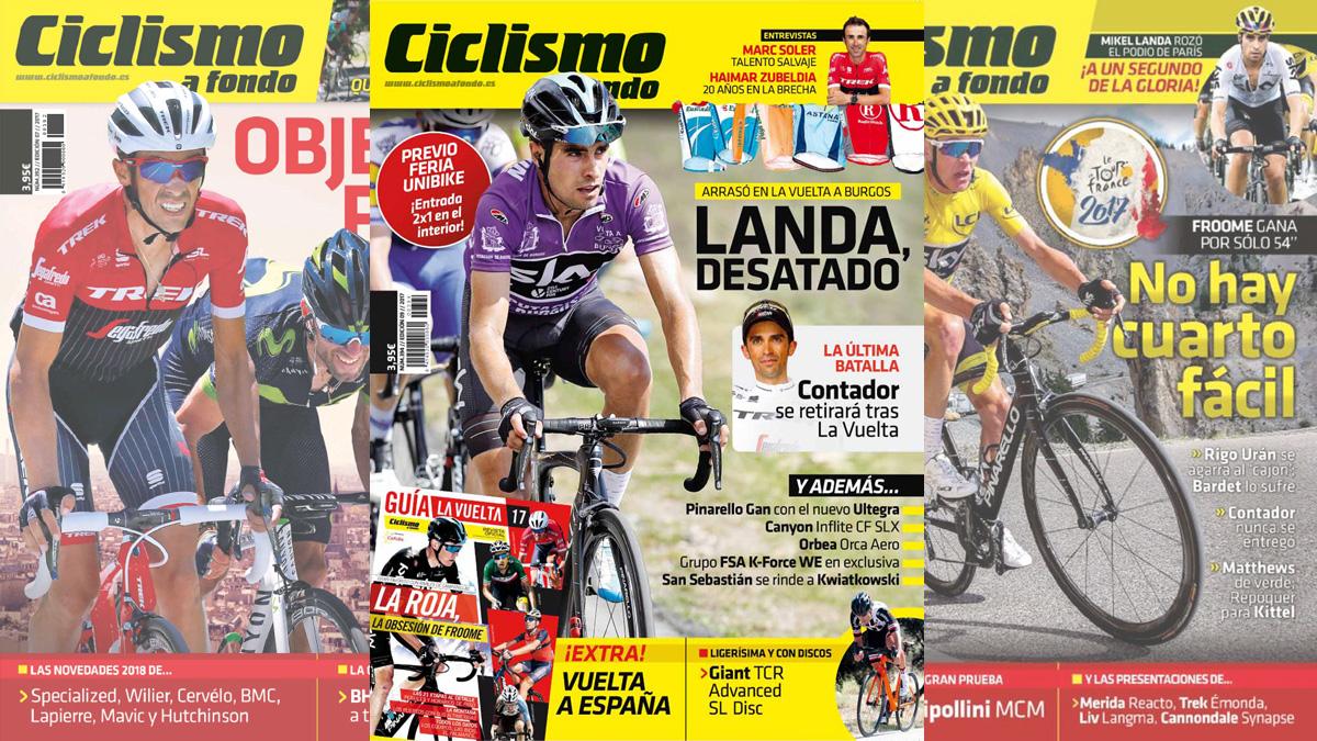 Consigue la versión digital de Ciclismo a Fondo