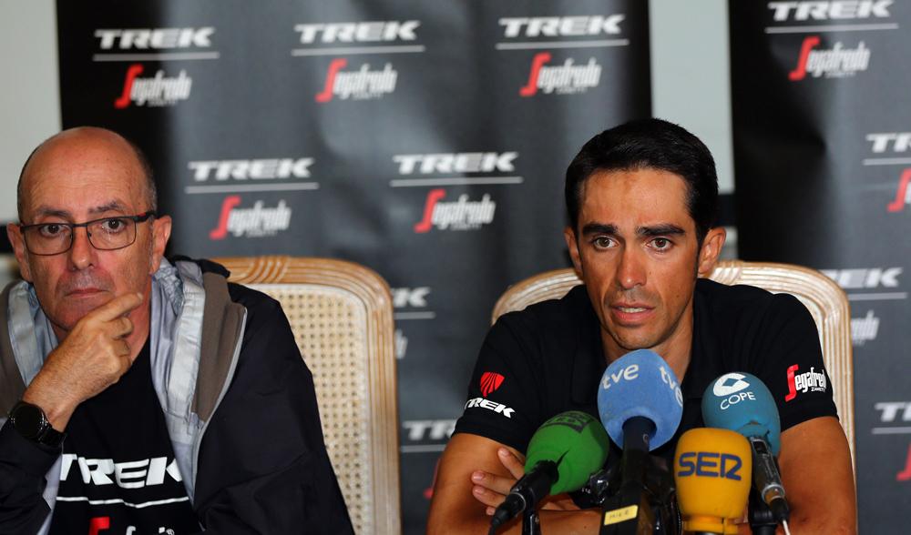 """Contador, sobre la Vuelta: """"Van a ser tres semanas de ensueño"""""""