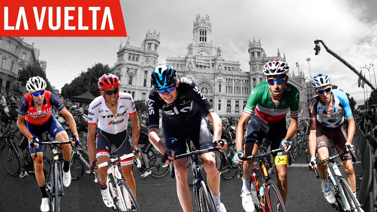 Vuelta a España 2017: Favoritos