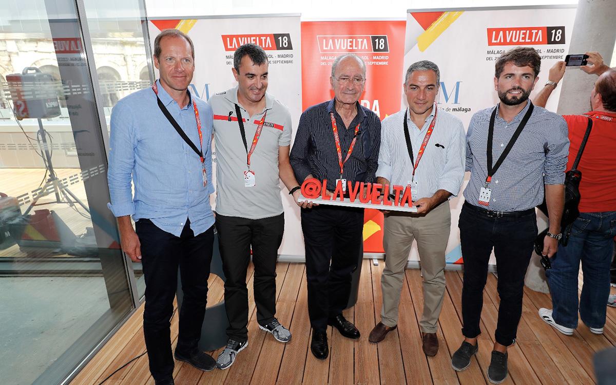 Málaga pondrá en marcha la Vuelta 2018