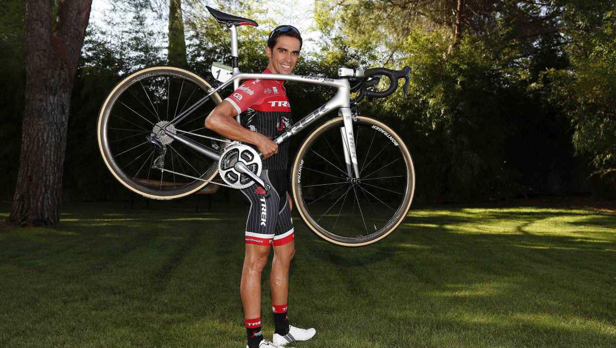 Galería: la última bicicleta de Contador