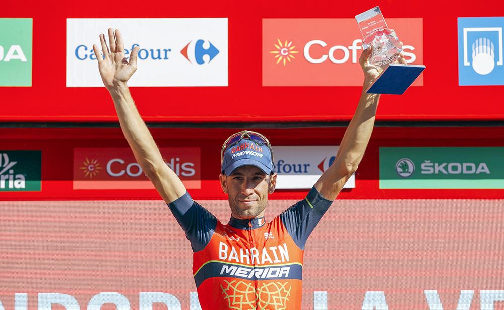 """Vincenzo Nibali: """"He sufrido en la subida pero me he recuperado"""""""