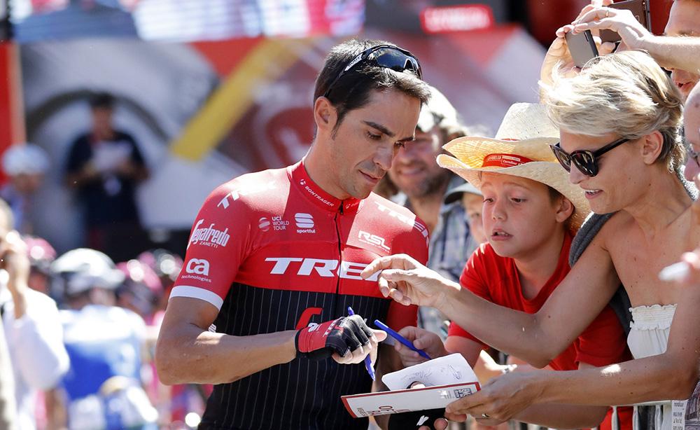 """Contador: """"Cruzo los dedos para estar como antes de la Vuelta"""""""