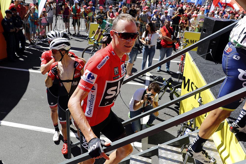 Vídeo directo: control de firmas de la 5ª etapa de la Vuelta