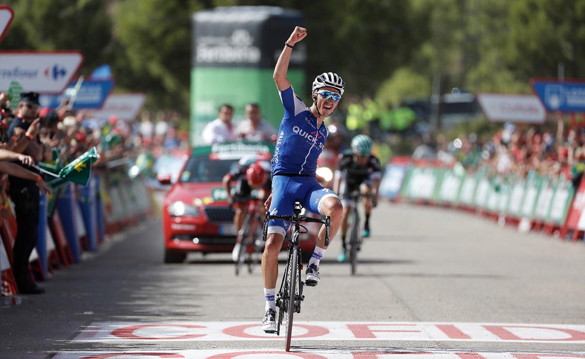 Alaphilippe gana en Xorret de Cati; Contador y Froome, los más fuertes