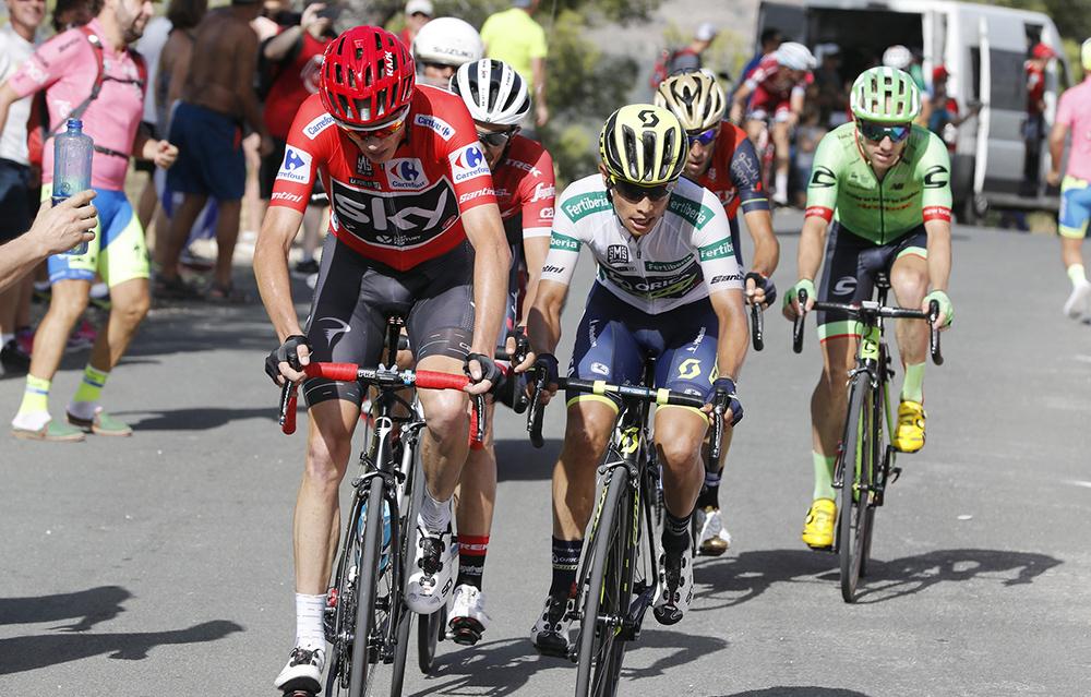 """Chris Froome: """"Contador me va a meter presión"""""""