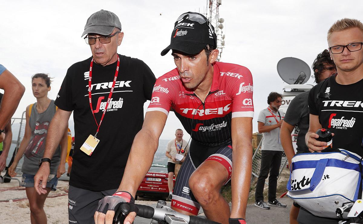 """Contador: """"Cuando ha arrancado Froome estaba con un piñón de más"""""""