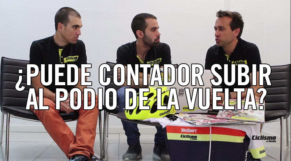 #TertuliaCAF: ¿Puede Contador subir al podio de la Vuelta?
