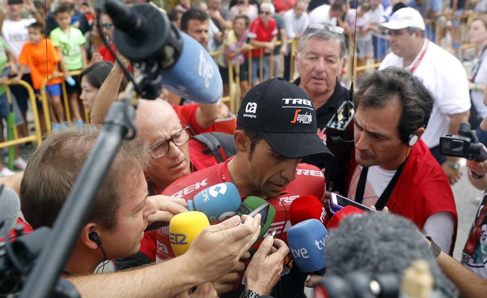 """Contador: """"Era previsible el ataque de Nibali"""""""