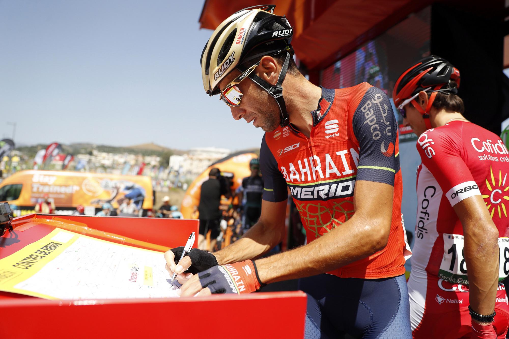 Vídeo directo: control de firmas de la 13ª etapa de la Vuelta