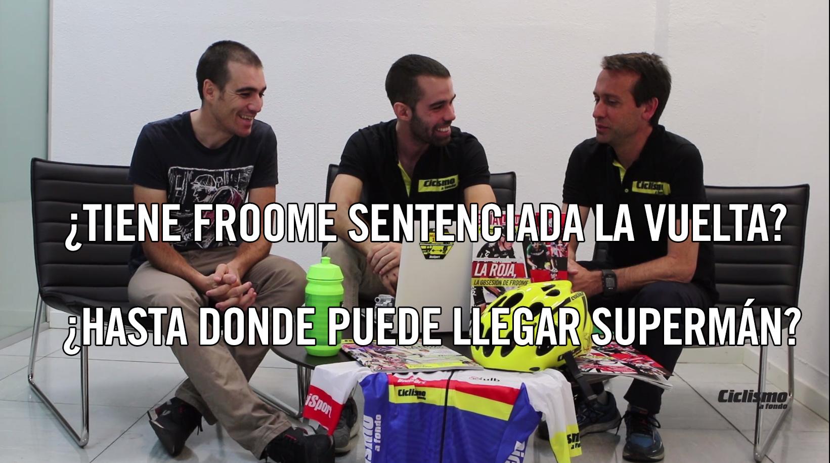 #TertuliaCAF: ¿Tiene Froome sentenciada la Vuelta?