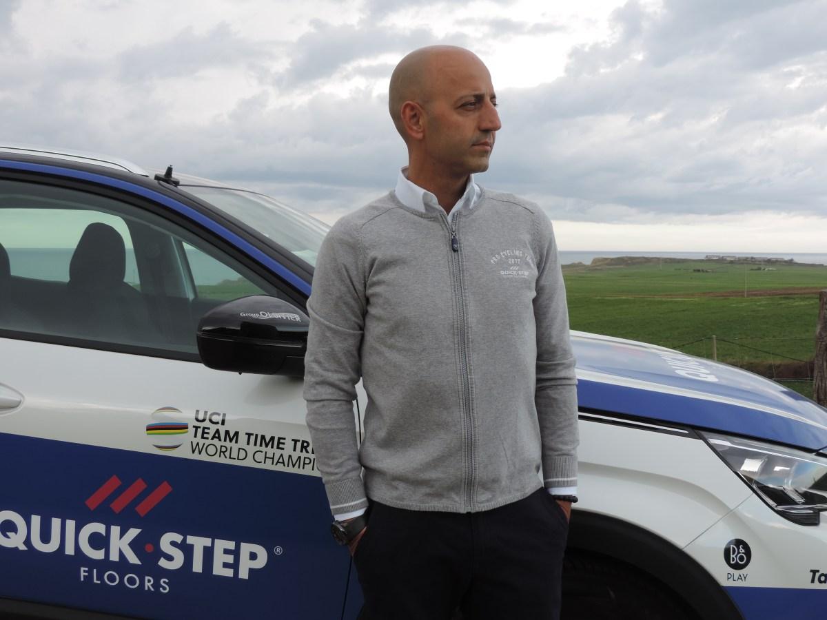 "Joxean Fernández Matxin: ""el caza-talentos del Quick Step"""