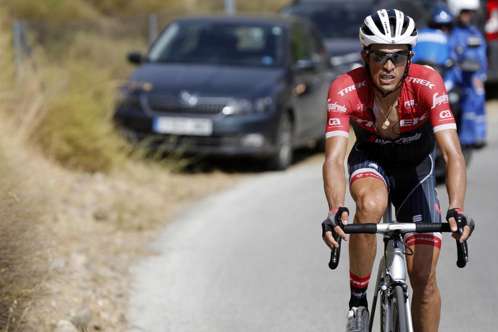 """Alberto Contador, brillante en los Machucos: """"No lo he pensado"""""""