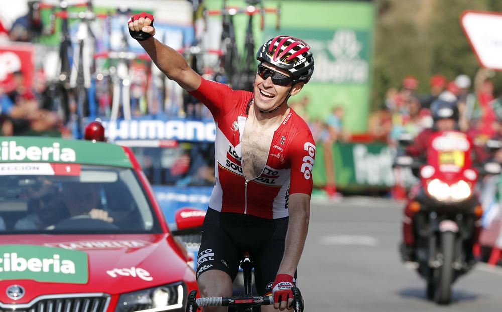 No hay lugar a la calma en la Vuelta