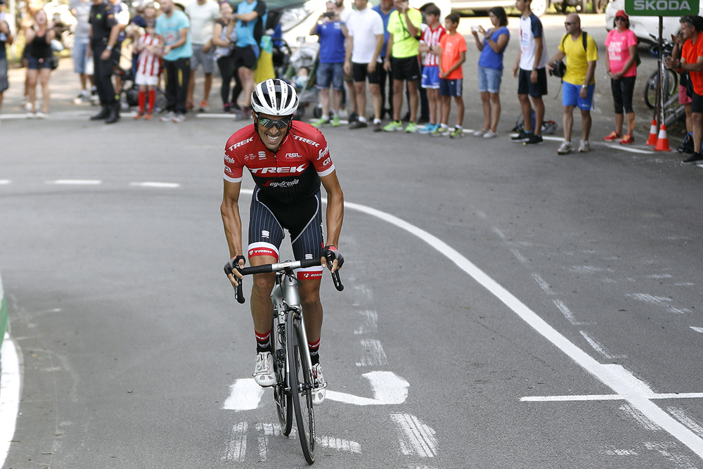 """Contador: """"Estoy mejor que al inicio de la Vuelta"""""""