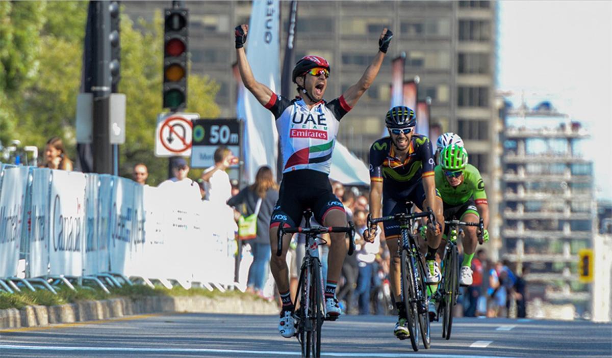 Un sensacional Herrada, 2º en Montreal; victoria de Ulissi