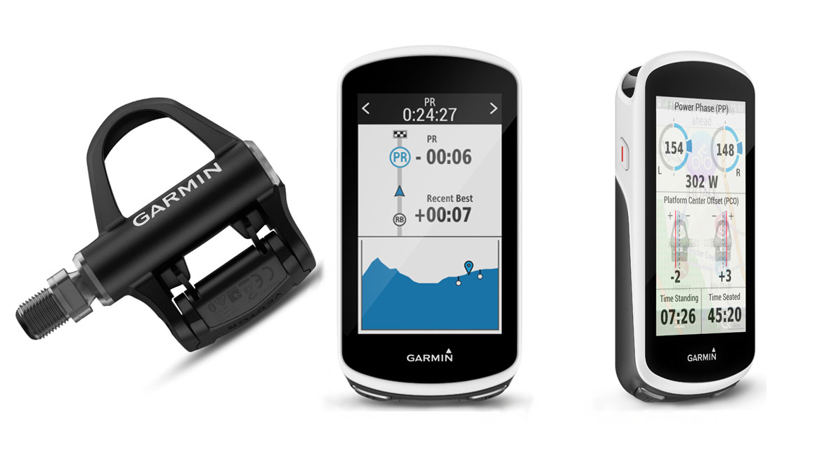 Garmin presenta el ciclocomputador Edge 1030 y los pedales Vector 3 y 3S
