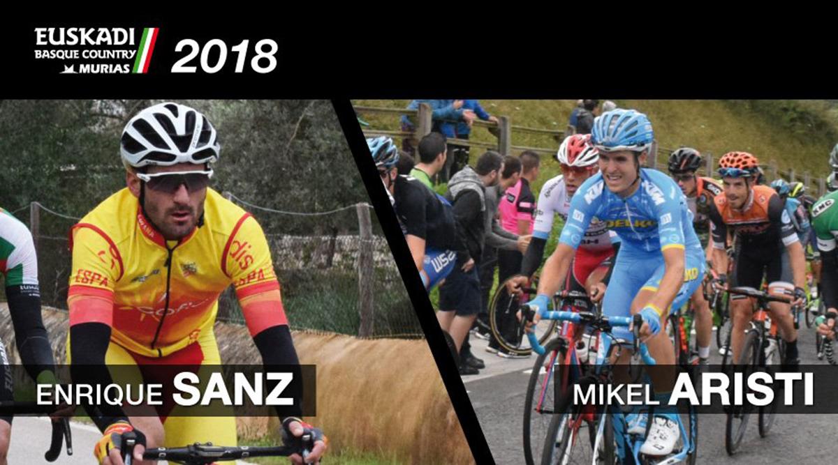 Enrique Sanz y Mikel Aristi correrán en el Euskadi Basque Country – Murias Taldea