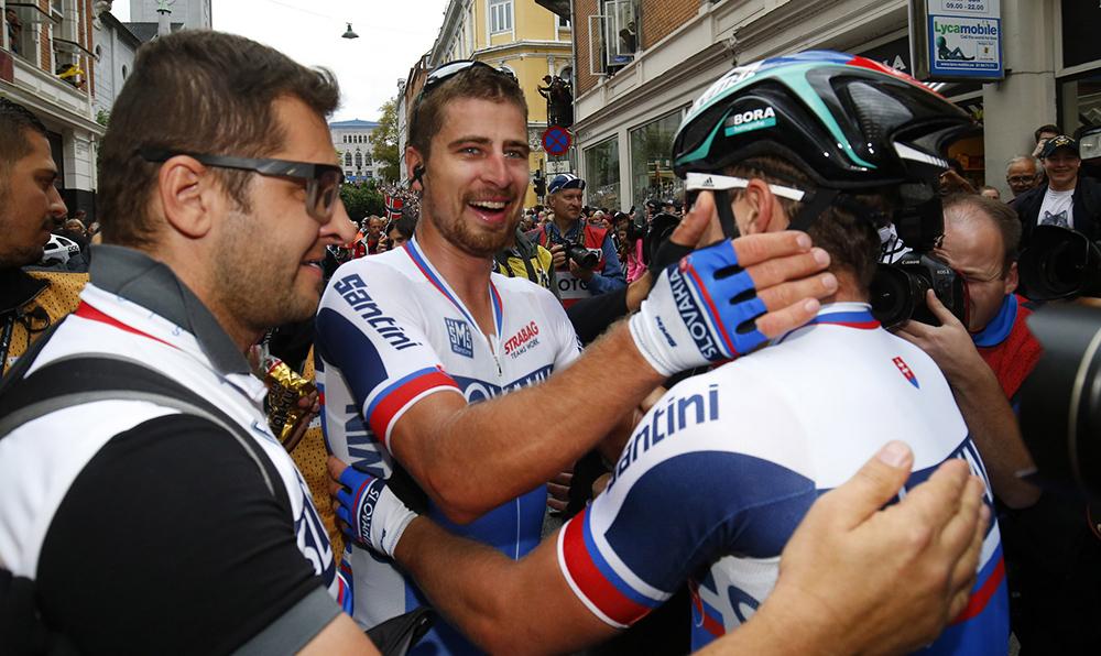 """Sagan: """"Quiero dedicárselo a Scarponi"""""""