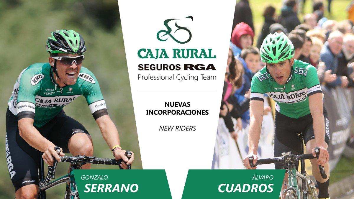 Serrano y Cuadros pasan al equipo pro del Caja Rural-Seguros RGA