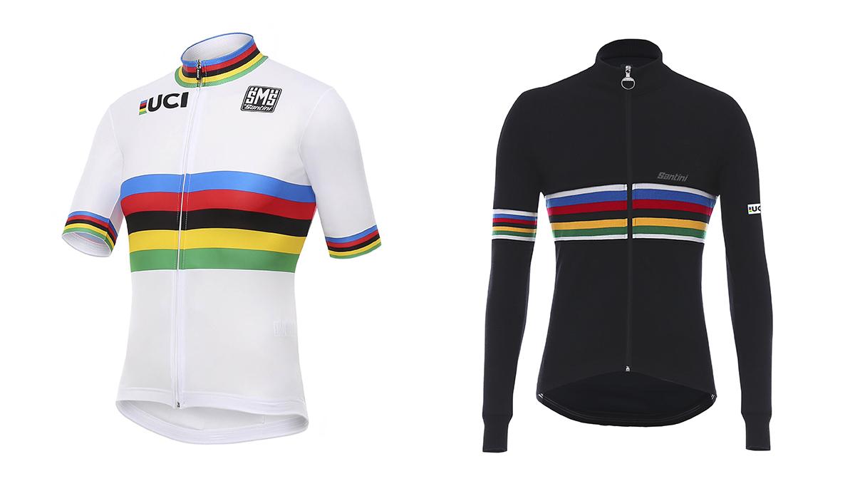 Santini y la UCI presentan su colección para 2018