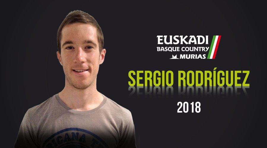 Sergio Rodríguez, nueva incorporación del Euskadi-Murias para 2018