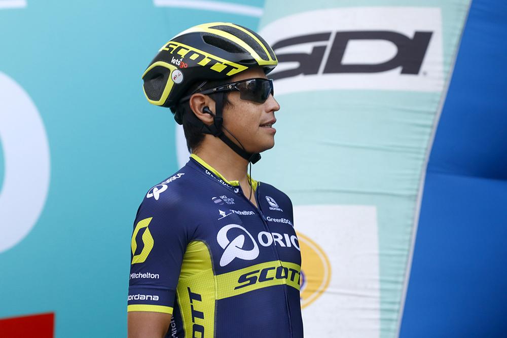 Esteban Chaves sufre una fractura en el hombro