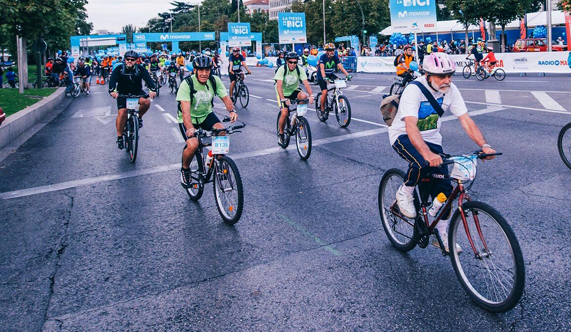 Más de 70.000 participantes en la Fiesta de la Bici de Madrid