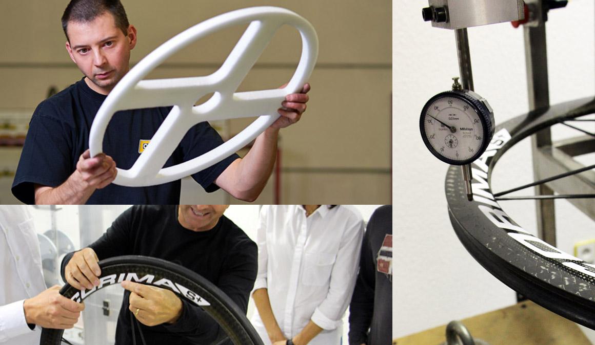 Corima nos muestra el método de elaboración de sus ruedas