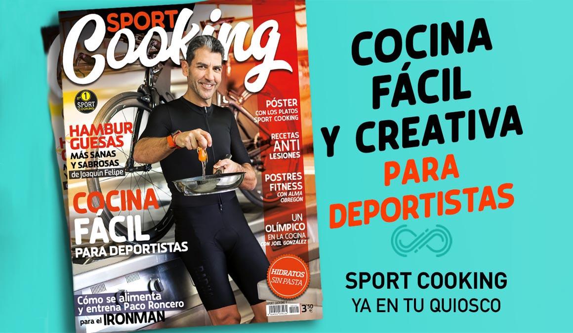 Sport Cooking, la cocina para deportistas