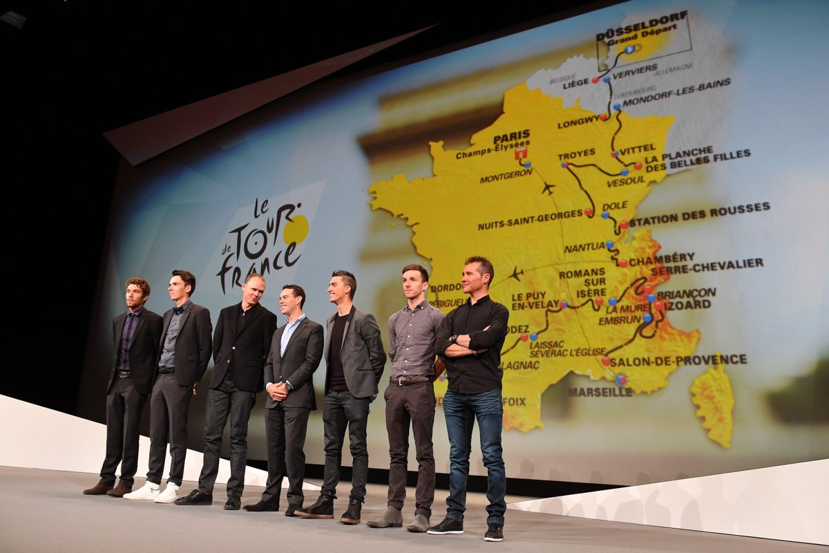 Vídeo directo: Presentación del Tour de Francia 2018