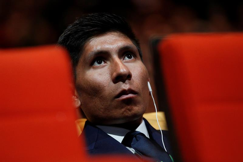 Quintana asegura que será el jefe de filas del Movistar en el Tour 2018