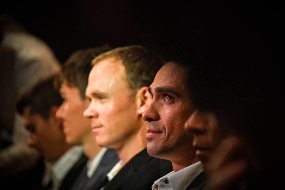 Contador, Froome y Bardet reaccionan al recorrido del Tour 2018