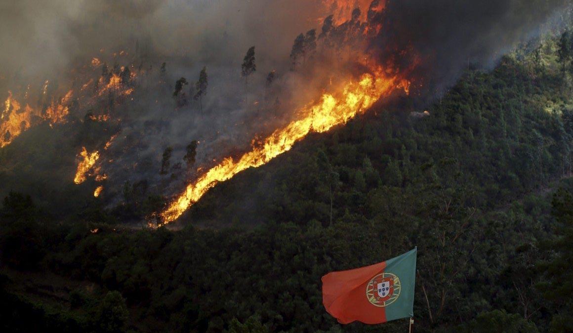 BH afectada por los incendios de Portugal