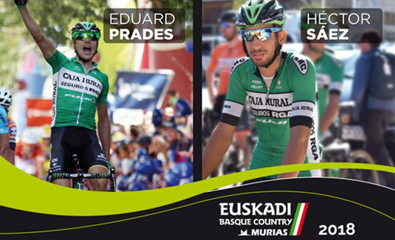 Héctor Sáez y Eduard Prades correrán en el Euskadi-Murias
