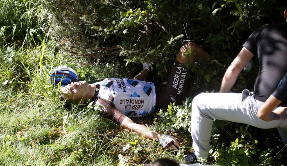 La carrera deportiva de Bakelants, en duda