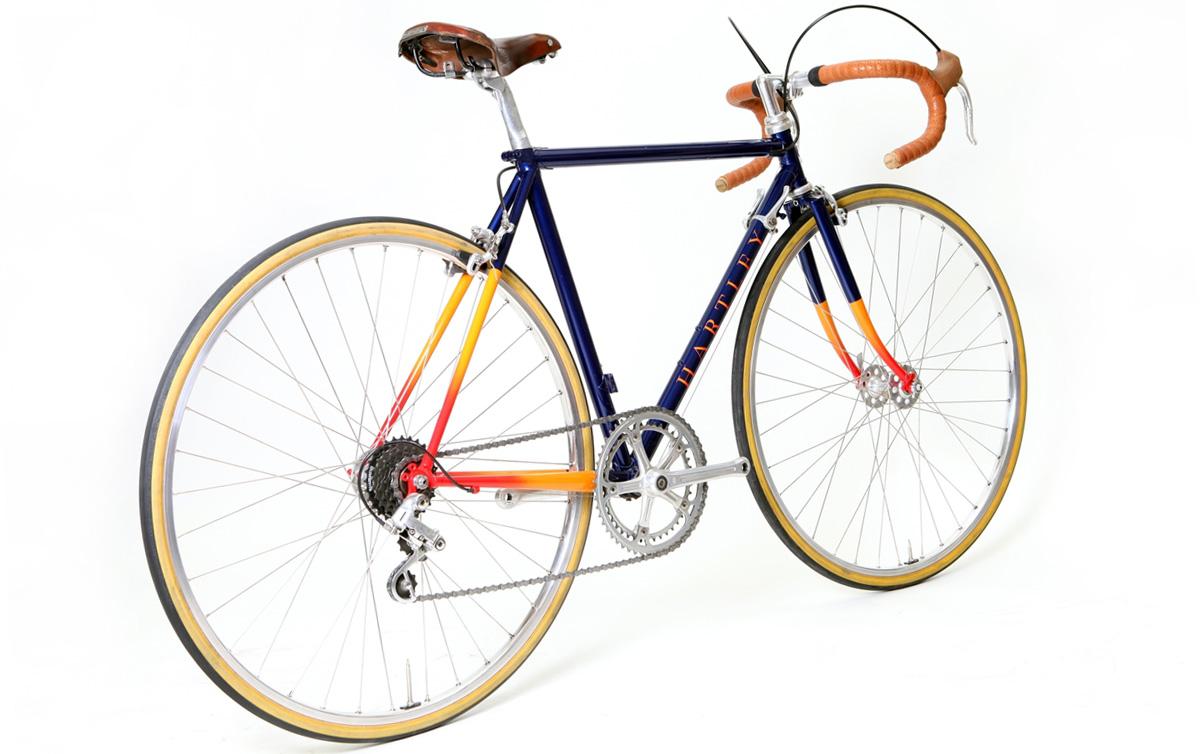 Bicicletas artesanas Hartley, orfebrería sobre ruedas
