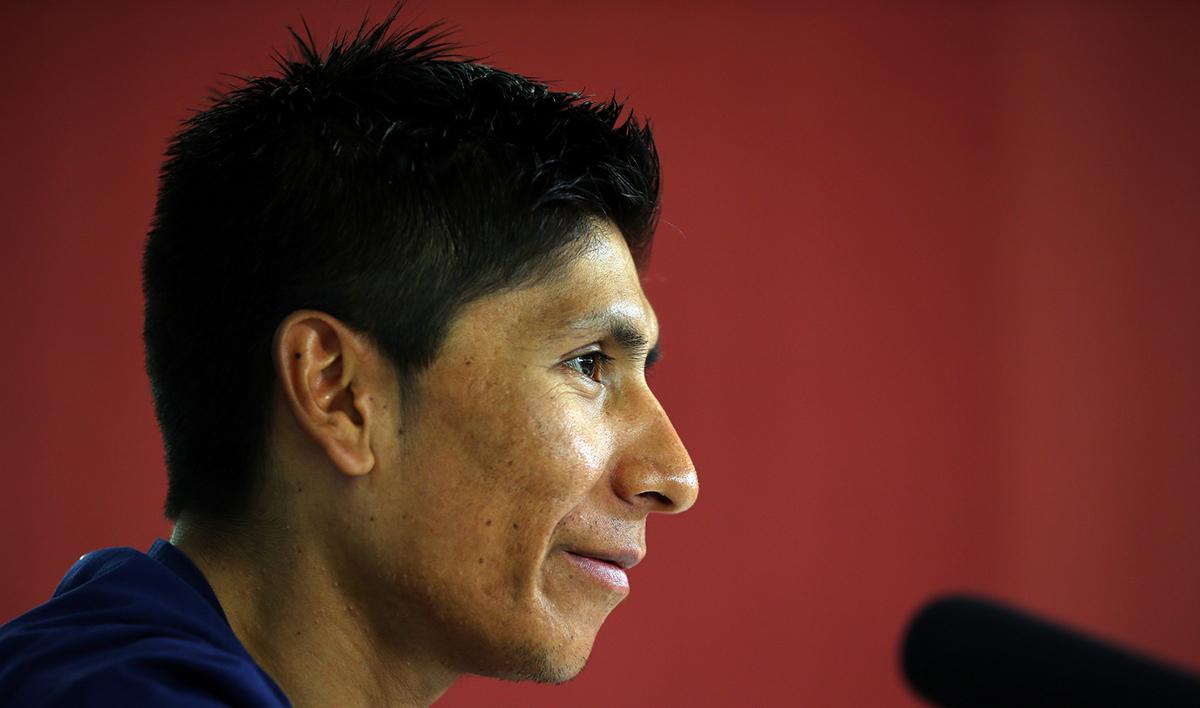 "Nairo Quintana: ""Seguramente corramos los tres el Tour"""