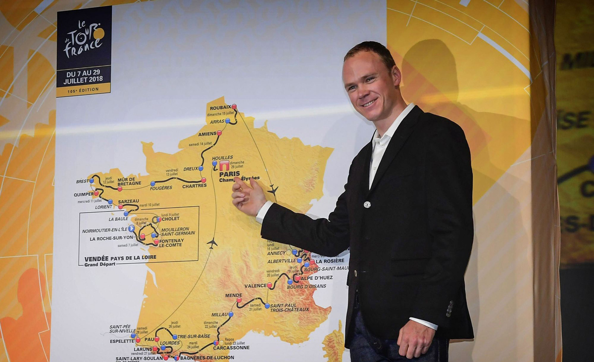 Froome se plantea el doblete Giro-Tour
