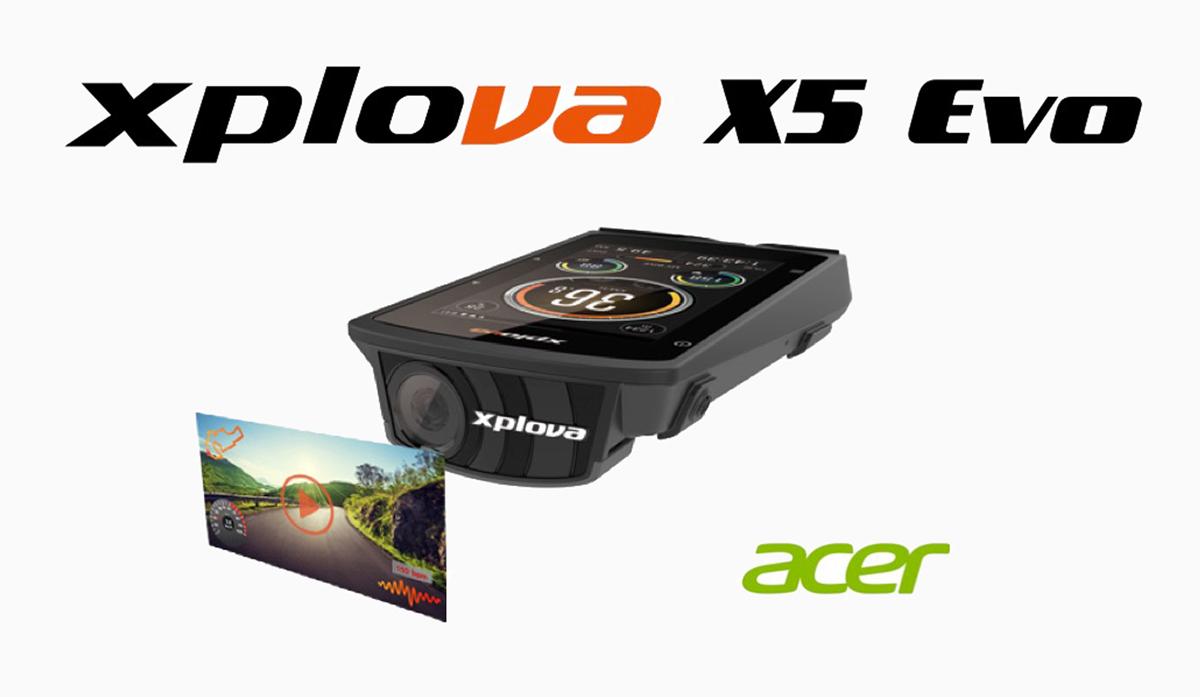 Xplova X5 Evo, ciclocomputador GPS con cámara de acción integrada