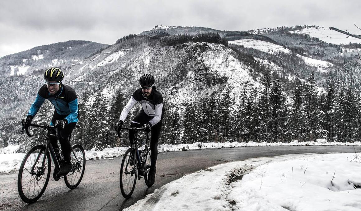 Cómo vestirse de ciclista en invierno