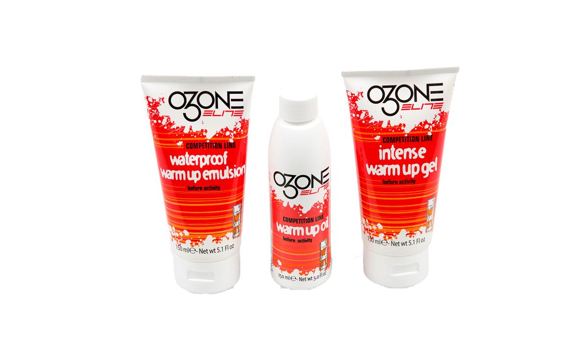 Cremas de calentamiento Elite Ozone (prueba)