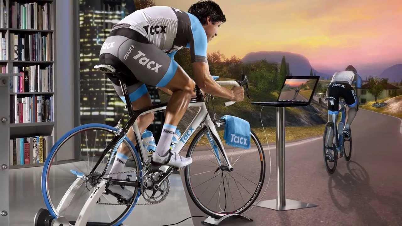 Entrenamiento ciclista en rodillo