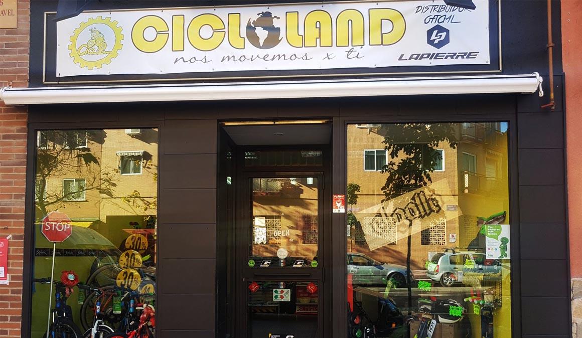 Cicloland en Móstoles se renueva