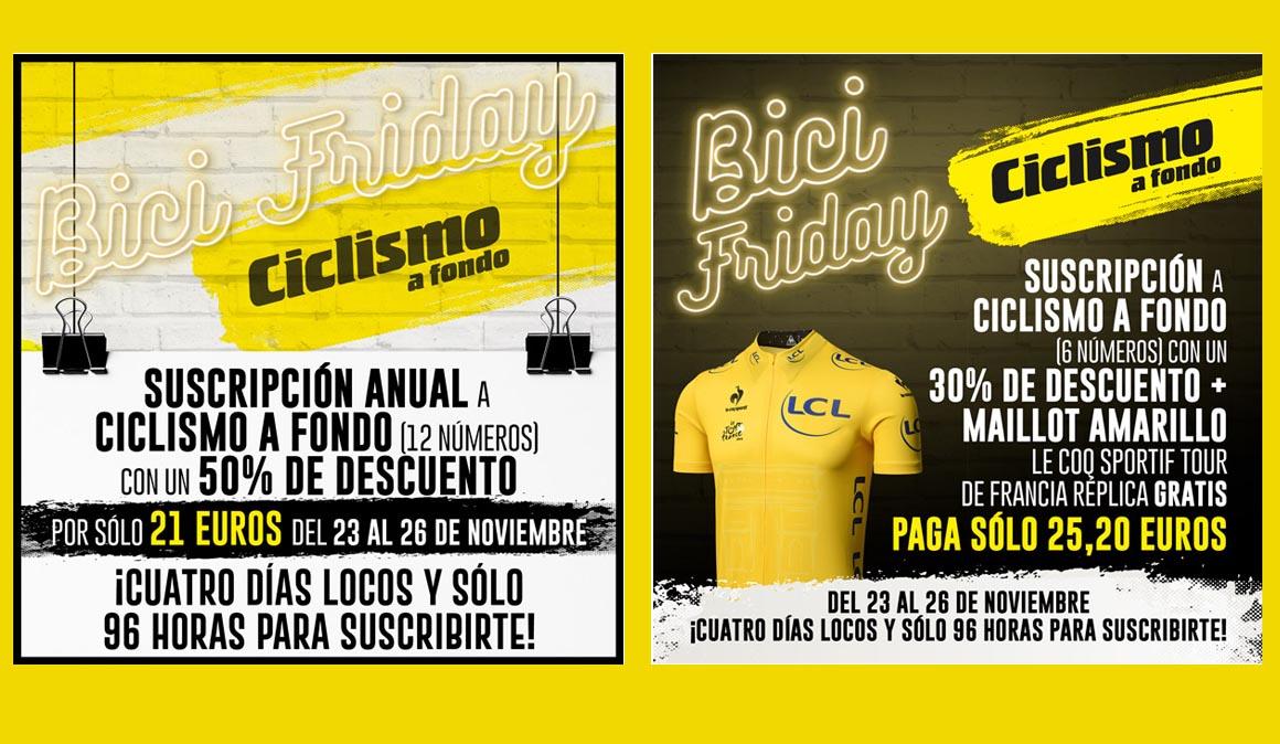 Llega el Black Friday a Ciclismo a Fondo