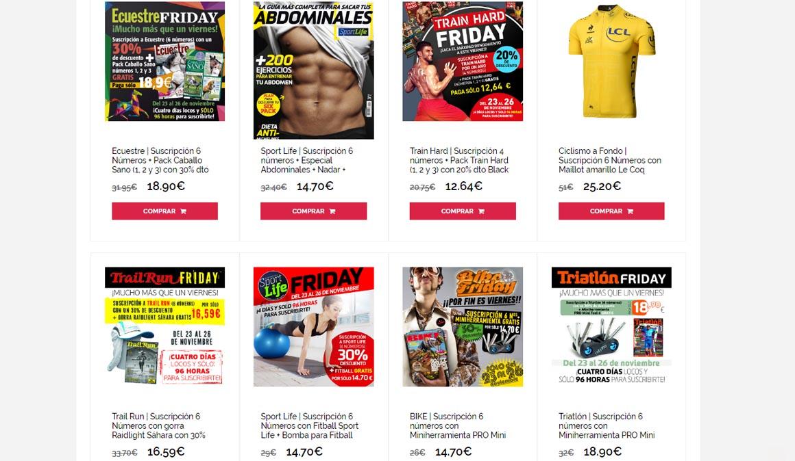 ¿Quieres ofertas especiales a las mejores revistas de deporte?