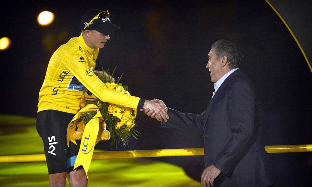 "Merckx: ""Froome debería ir al Giro"""