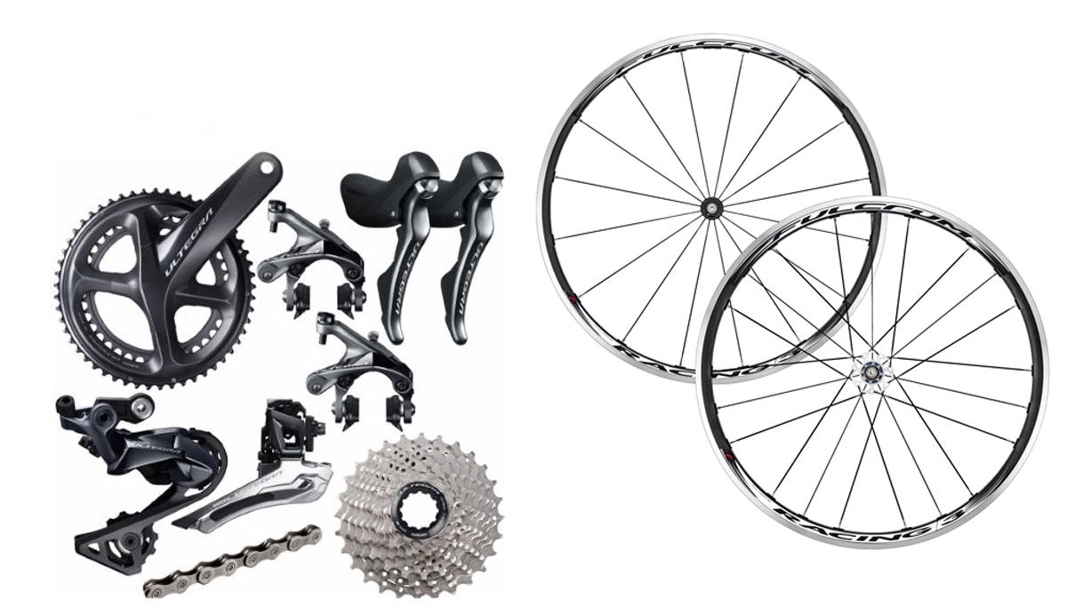 Más ofertas: nuevo grupo Ultegra 11v, ruedas Fulcrum Racing 3…